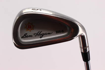 Ben Hogan BH-5 Single Iron 5 Iron Hogan Apex 4 Steel Steel Stiff Right Handed 38.0in