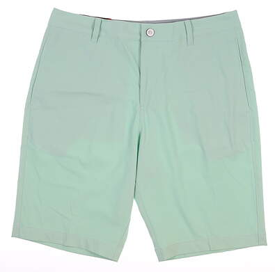 New Mens Puma Golf Shorts 32 Green MSRP $65