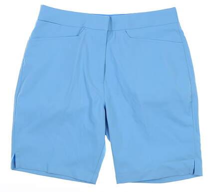 New Womens Puma Pounce Bermuda Shorts Small S Blue MSRP $65 577944