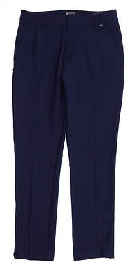 New Womens Puma Golf Pants Small S Navy Blue MSRP $80 596630