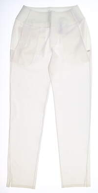 New Womens Puma PWRSHAPE Pants Small S White MSRP $75 595859