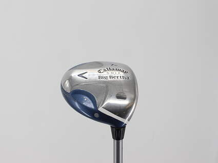 Callaway 2008 Big Bertha Ladies Fairway Wood 7 Wood 7W Callaway Stock Graphite Graphite Ladies Right Handed 41.25in