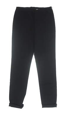 New Womens Straight Down Golf Pants Small S Black MSRP $118 W50111