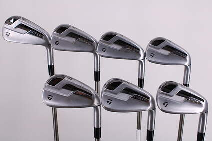 TaylorMade P790 TI Iron Set 5-PW GW Aerotech SteelFiber i95 Graphite Stiff Right Handed 37.75in