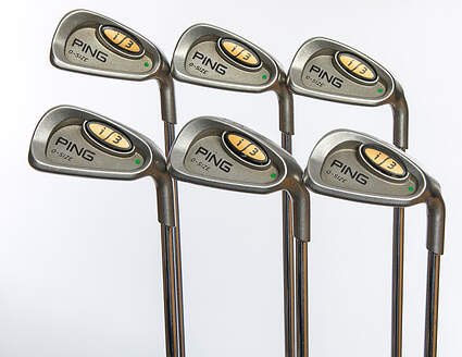 Ping i3 Oversize Iron Set 5-PW Stock Steel Shaft Steel Stiff Right Handed Green Dot 38.75in