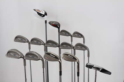 Mens Ping Iron Complete Golf Club Set Steel Stiff Right Handed