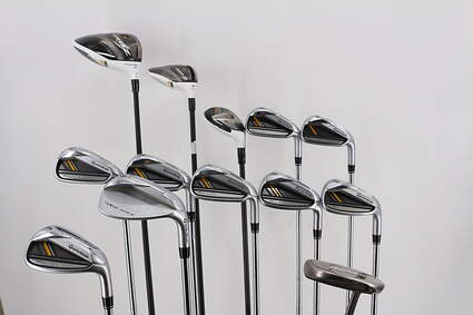 Mens TaylorMade RBZ Complete Golf Club Set Steel Stiff Right Handed