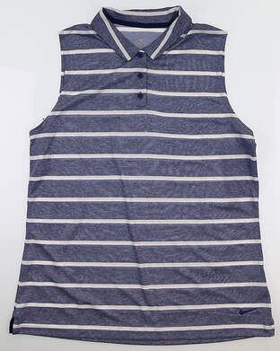 New Womens Nike Sleeveless Golf Polo Large L MSRP $55
