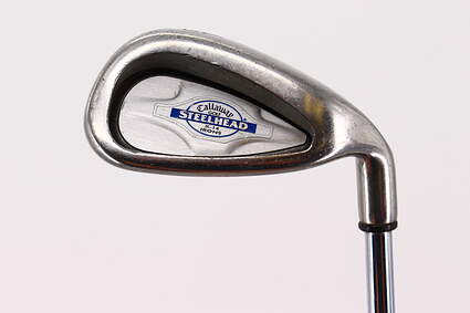 Callaway X-14 Single Iron 9 Iron Callaway Stock Steel Steel Regular Right Handed 35.75in