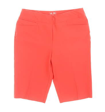 New Womens Adidas Ultimate Bermuda Shorts X-Large XL Coral MSRP $75 CD3465