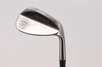 Cleveland 2012 588 Raw Tour Grind Wedge Sand SW 54° 12 Deg Bounce True Temper Dynamic Gold Steel Wedge Flex Right Handed 37.25in