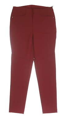 New Womens Ralph Lauren RLX Pants 10 Red MSRP $165