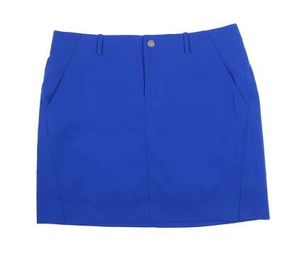 New Womens Ralph Lauren Golf Skort Size 10 Blue MSRP $100