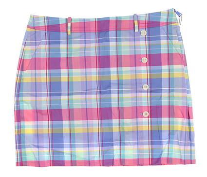 New Womens Ralph Lauren Golf Skort Size 8 Multi MSRP $115
