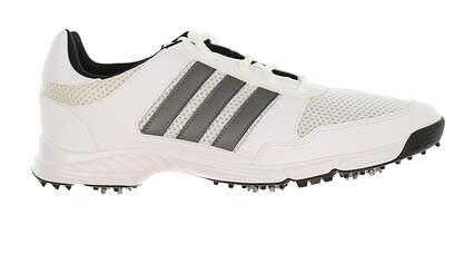 New Mens Golf Shoe Adidas Tech Response Medium 12 White/Black MSRP $60 F33549
