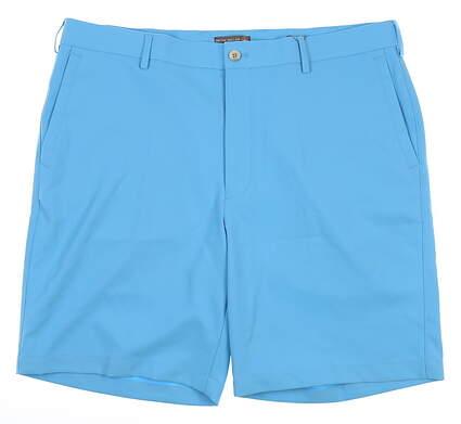 New W/ Logo Mens Peter Millar Shorts 36 Blue MSRP $95 MS18EB82