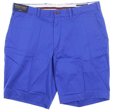 New Mens Ralph Lauren Links Fit Shorts 36 Blue MSRP $80