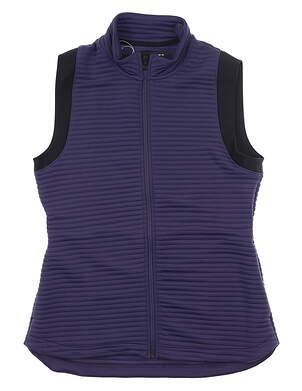 New Womens Under Armour Golf Vest Medium M Purple MSRP $75 UW1297179