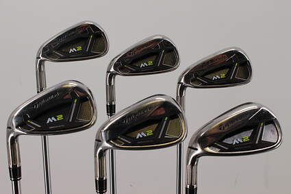 TaylorMade M2 Iron Set 5-PW TM FST REAX 88 HL Steel Regular Left Handed 38.5in
