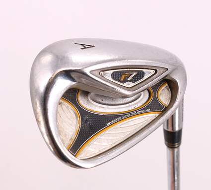 TaylorMade R7 Single Iron Pitching Wedge PW TM T-Step 90 Steel Stiff Right Handed 35.75in