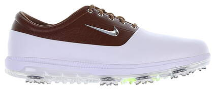 New Mens Golf Shoe Nike Air Zoom Victory Tour 13 White/Brown MSRP $180 AQ1479 101