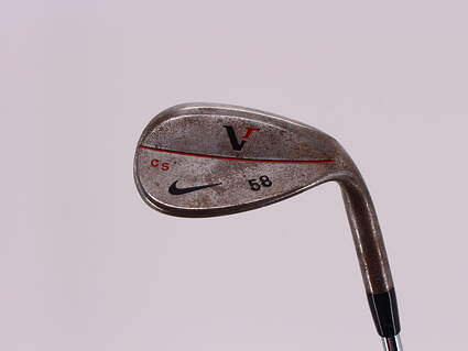 Tour Issue Nike Victory Red Forged Chrome Wedge Lob LW 58° True Temper Dynamic Gold Steel X-Stiff Right Handed 35.0in