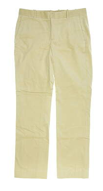 New Womens Ralph Lauren Pants 10 Khaki MSRP $145 6862634