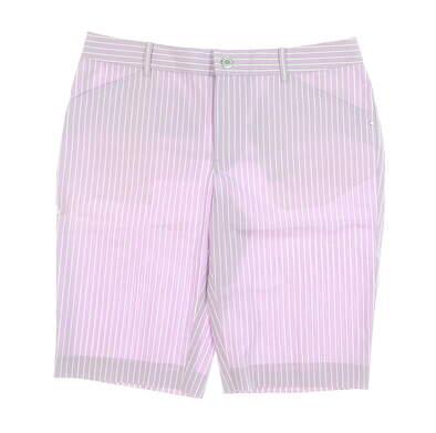 New Womens Ralph Lauren Golf Shorts 6 Purple MSRP $98 5864288