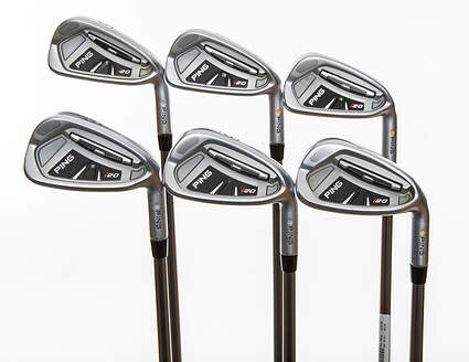 Ping I20 Iron Set 5-PW Ping TFC 169I Graphite Regular Right Handed Yellow Dot 37.5in