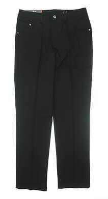 New Mens Puma Golf Pants 30 x32 Black MSRP $80 TC6168