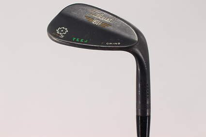 Titleist Vokey SM5 Raw Black Wedge Gap GW 50° 8 Deg Bounce F Grind FST KBS Tour Steel Stiff Right Handed 35.5in