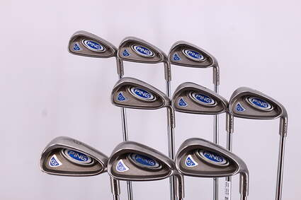 Ping G5 Iron Set 3-PW GW Ping CS Lite Custin Steel Regular Right Handed Black Dot 37.75in