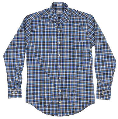 New Mens Peter Millar Button Up Small S Multi MSRP $124 MF18W21CSL