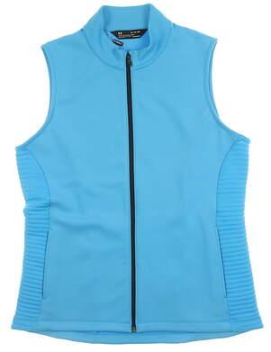 New Mens Under Armour Vest X-Large XL Blue MSRP $80