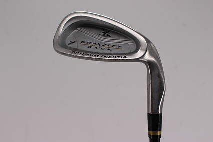 Cobra Gravity Back Single Iron 9 Iron Stock Graphite Shaft Graphite Regular Right Handed 36.0in