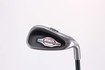 Callaway 2002 Big Bertha Single Iron 6 Iron 29° Callaway RCH 75i Graphite Stiff Right Handed 37.5in