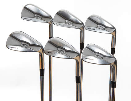 Callaway Tour Authentic Iron Set 5-PW True Temper Dynamic Gold Steel X-Stiff Right Handed 38.5in