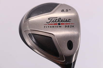 Titleist 983 K Driver 8.5° UST HTD FZS Shaft Graphite Stiff Right Handed 44.75in