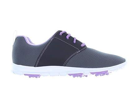 New Womens Golf Shoe Footjoy enJoy Medium 7.5 Gray MSRP $80 95711