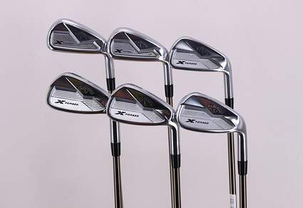 Callaway 2018 X Forged Iron Set 5H 6H 7-PW UST Mamiya Recoil 95 F3 Graphite Regular Right Handed 37.0in