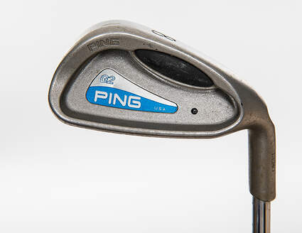 Ping G2 Single Iron 8 Iron True Temper Steel Stiff Right Handed Black Dot 36.5in
