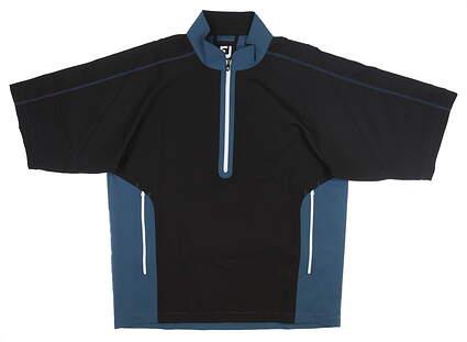 New Mens Footjoy Sport Short Sleeve Windshirt Medium M Multi MSRP $80 32654