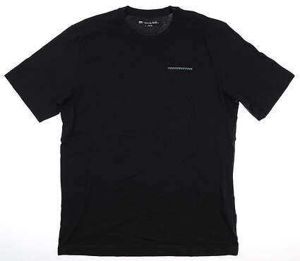New Mens Travis Mathew T-Shirt Large L Black MSRP $35