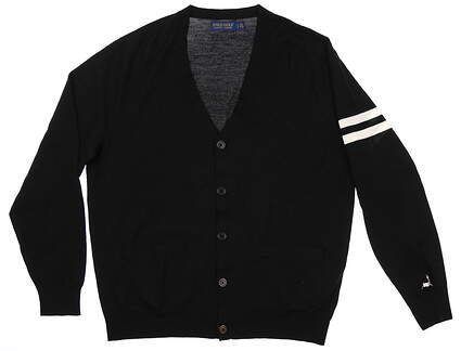 New W/ Logo Mens Ralph Lauren Cardigan X-Large XL MSRP $125