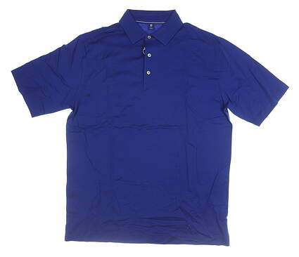 New Mens Footjoy 1857 Polo Large L Blue MSRP $70