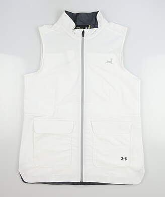 New W/ Logo Womens Under Armour Full Zip Vest Small S MSRP $75