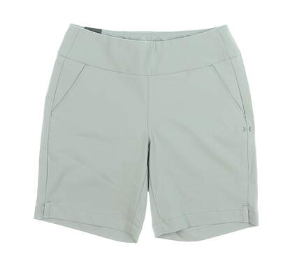 New Womens Under Armour Pull On Golf Shorts Small Gray MSRP $60