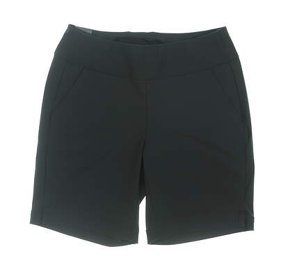 New Womens Under Armour Pull On Golf Shorts Medium M Black MSRP $60
