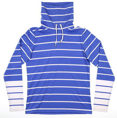 New Womens Ralph Lauren Pullover Small Blue MSRP $148