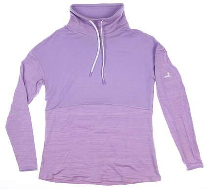 New W/ Logo Womens Footjoy Pullover Purple Small S MSRP $95
